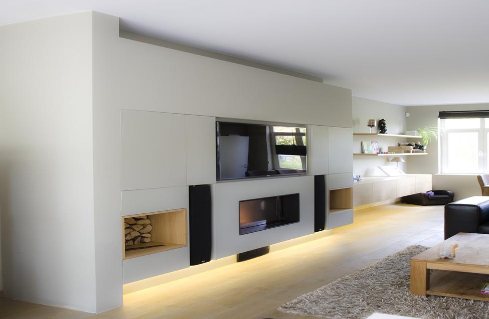 wandmeubel tv_meubel haardomkasting dressoir woonkamermeubel